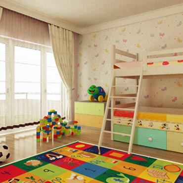 Juvenile Kid Rugs Area