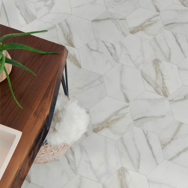 Carrara luxury vinyl sheet