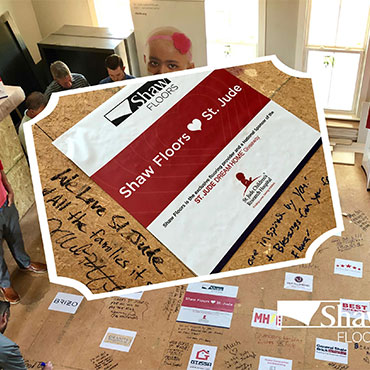 Shaw Floors is honored to be a national sponsor of the St. Jude Dream Home Giveaway