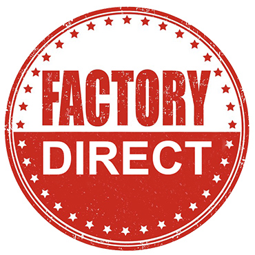 Factory Direct Pricing