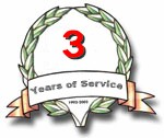 Years of Service