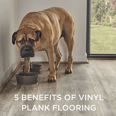 Five Benefits of Vinyl Plank Flooring