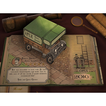 Apex Creates Pop-Up Book App to Tell its Story