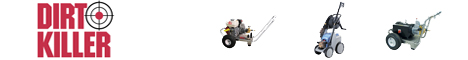 Click Here to view Dirt Killer Pressure Washers
