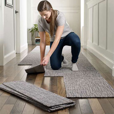 Floorigami Peel and Stick Carpet Tile