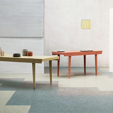 Marmoleum Modular Linoleum Floor Tiles