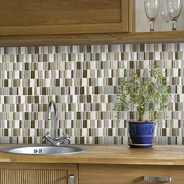 3 Glass Tile Bathroom Design Concepts Inspired By Summer