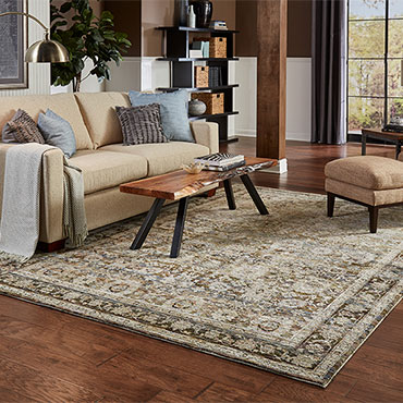 Choosing the right size of area rug