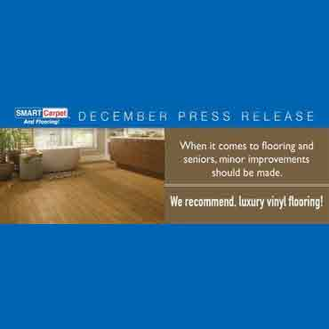 Advice from SMART Carpet and Flooring: Elderly Should Avoid Using Porcelain Tile in Bathrooms